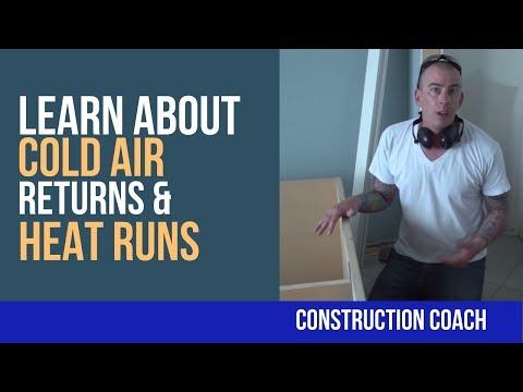 Learn about Cold Air Returns & Heat Runs - DIY