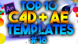 Top 10 3d Intro Templates #18 – After Effects, Cinema 4d