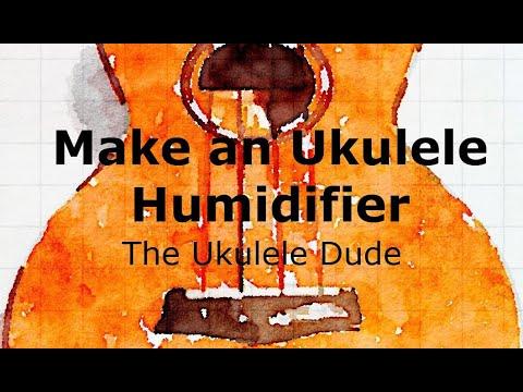 Ukulele Humidifier - The Ukulele Dude