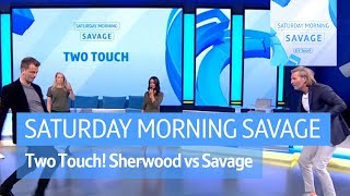 Two Touch! Tim Sherwood battles Robbie Savage and he