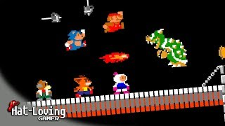 9 All-Star Challengers take on BOWSER!