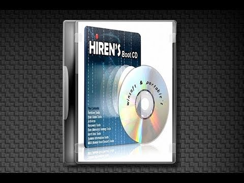 [Demo]-Hiren's BootCD 15.2 Full Edition+Mini XP