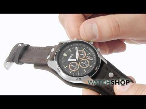 Men's Fossil Coachman Chronograph Cuff Watch (CH2891)
