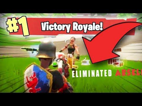1st VICTORY ROYALE on Fortnite: Battle Royale (Solo Mode - PC)