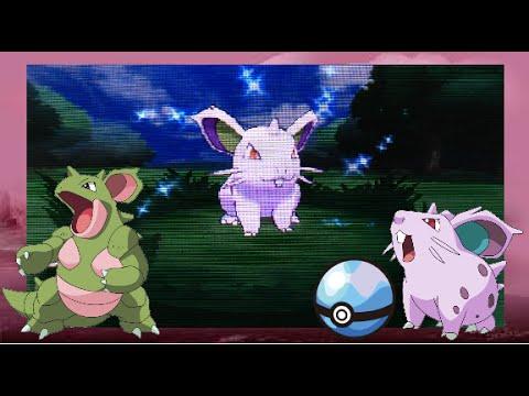 Random Shiny Nidoran♀ in a Horde Battle! [+Evolution!] (Pokémon X)
