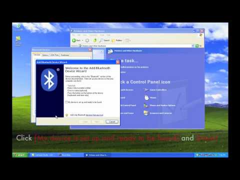 AIWI Connection Wizard for Internet Tethering by Bluetooth (XP)