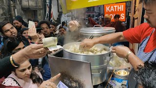 Crowd going crazy for Momos | Dolma Aunty Momos | Indian Street Food