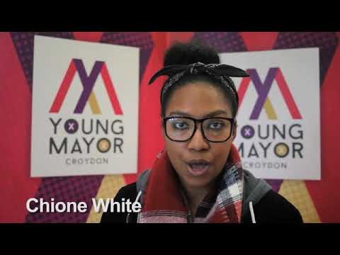 Croydon Young Mayor candidate - Chione White