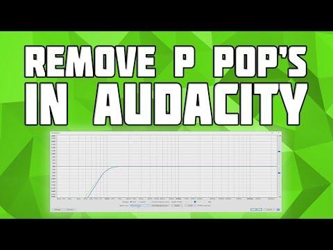 Remove Popping P's in Audacity! Remove Plosive P in Audacity!