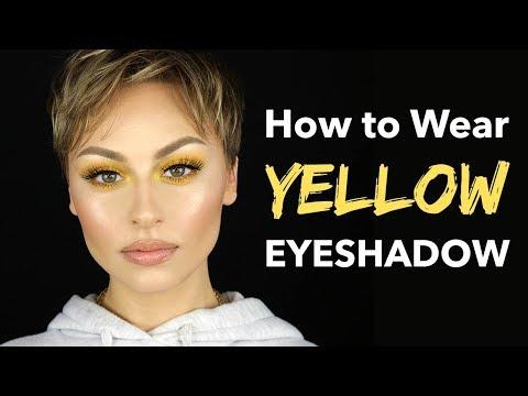 HOW TO Wear Yellow Eyeshadow | Alexandra Anele