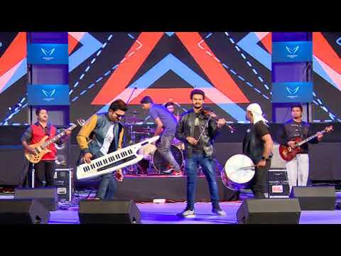 Stephen Devassy and Solid Band , Performed at Kengeri Campus - PART 1