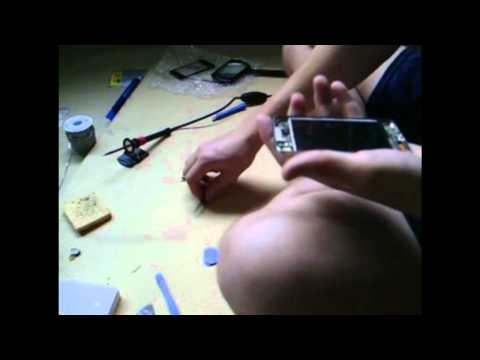 How to Replace/Repair/Fix iPod touch audio/Headphone jack Part 1
