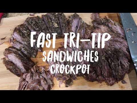 Cook Easy Crockpot TRI TIP dinner