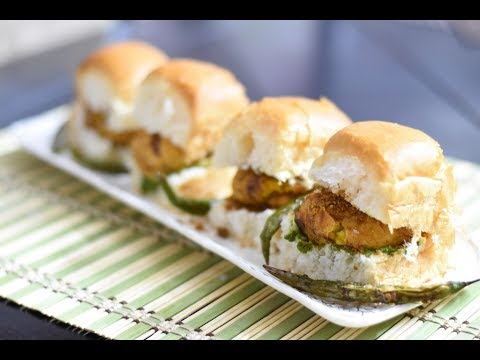 Vada Pav/Mumbai Vada Pav | वड़ा पाव | Fast Food - Indain Burger