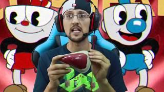 DEVIL IS AFTER US! 👿 CUPHEAD Game: Be4 BENDY & the Ink Machine Got Spooky (FGTEEV Part 1 Gameplay)