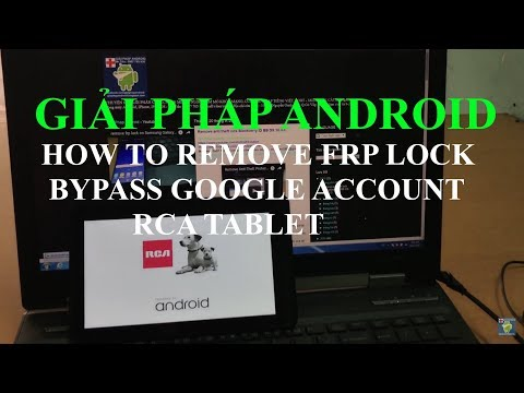 how to bypass Google account remove FRP lock on RCA Voyager tablet Android Marshmallow