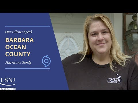 Barbara: LSNJ's Hurricane Sandy Project Helps Client Save Her Home from Foreclosure