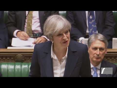 World Needs Liberal Democratic Values - Theresa May in Commons speech