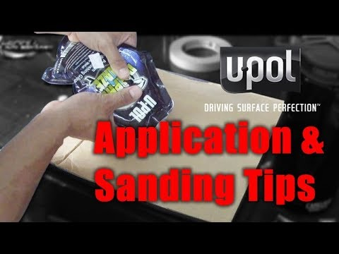 U Pol Glaze Spot Putty Application & Sanding Tips Before You Paint Your Car