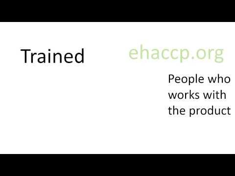 Assemble a HACCP team