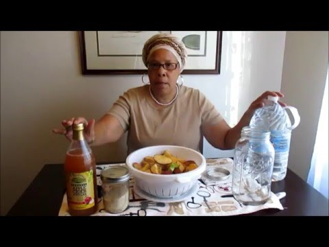 The Older Women Shall Teach The Younger Women ~ Homemade Apple Cider Vinegar