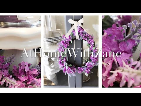 DIY Dollar Tree Lavender Wreath || Requested Video