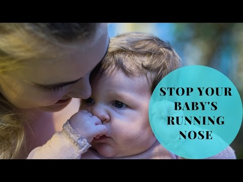 Stop a running nose with reflexology and acupressure