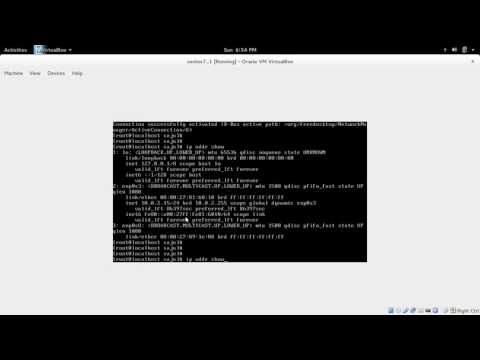 How to Configure Network Interfaces on CentOS 7