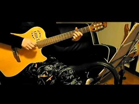 (TAB) Yuuyake Koyake Finger style Solo Guitar   夕焼け小焼け ソロギター