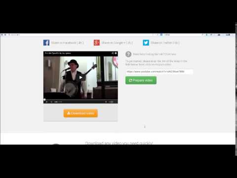 VidConv.net - Download videos from YouTube, Vimeo, Dailymotion and Facebook Online for Free