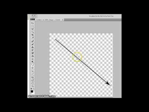Photoshop Curved Arrows in 60 Seconds