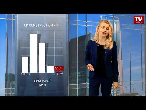 Pound weakens against US dollar (04.09.2017)