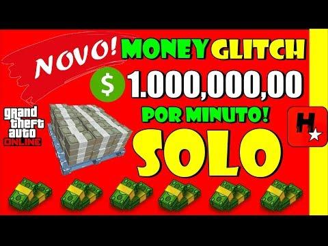 💲FUNCIONANDO💲GLITCH SOLO DINHEIRO GTA 5💲FAÇA MILHÕES AGORA!💲GTA V Solo Money Glitch💲Car Duplication!