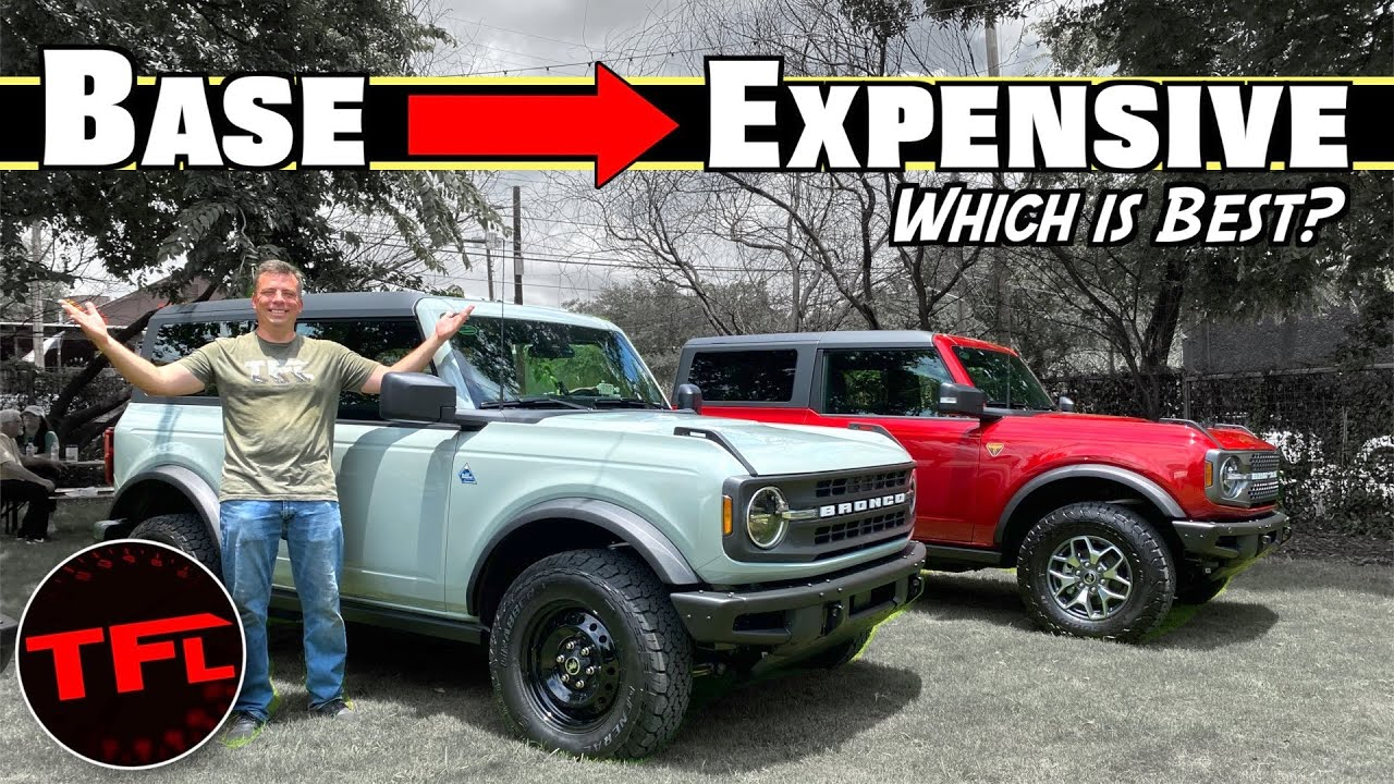 What Is The BEST 2021 Ford Bronco? I Compare The Trims To Find Out! | Bronco Week Ep.2