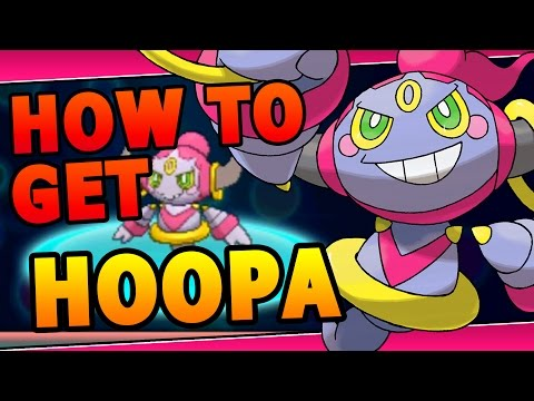 Pokemon How To Get Hoopa - Hoopa Event 2016 Pokemon X&Y ORAS ( Europe )