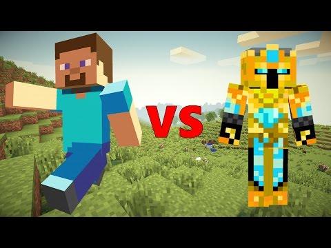 Steve VS The King - Minecraft