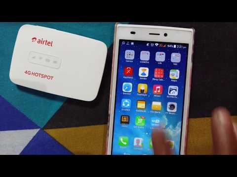 how to change airtel 4g hotspot name and password [hindi] change wifi name and password airtel