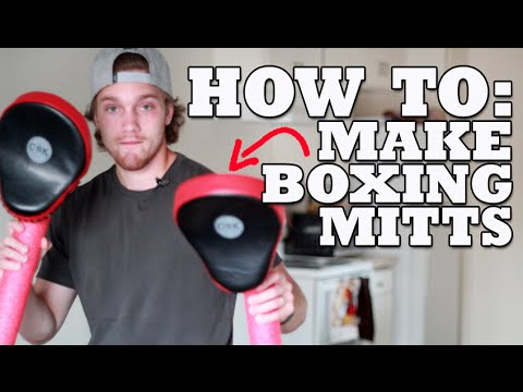 How to Make Your Own Boxing Focus Mitts for $1.00!