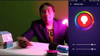 Control Smart Light by Mobile & Amazon Alexa Echo Device