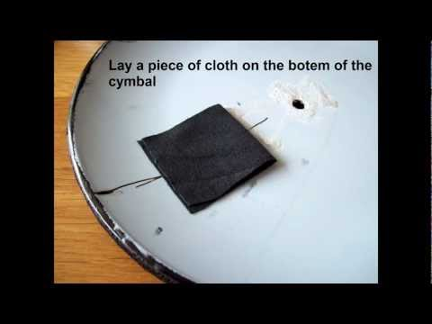 How to make a Electronic Cymbal pad + Clamp