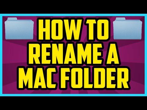 How To Rename A Folder On Mac 2017 (EASY) - Rename Folder On Mac Tutorial (Macbook Pro, Air, iMac)