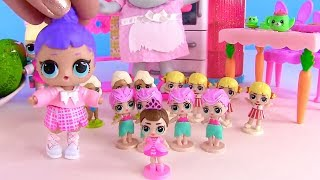 Download Куклы Лол! Киндер Сюрпризы и Пакет с Новинками Lol мультик! Видео для детей! Lol Surprise Video