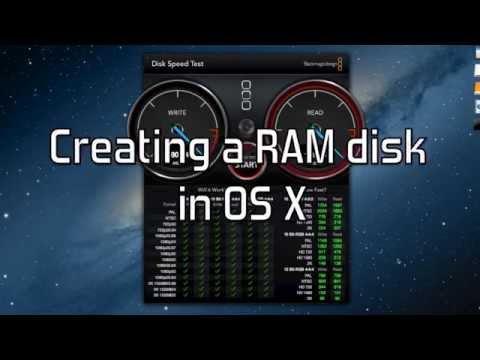 How to create a Super Fast RAM disk in Mac OS X