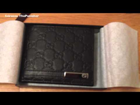 Gucci Men's Wallet Unboxing [HD]