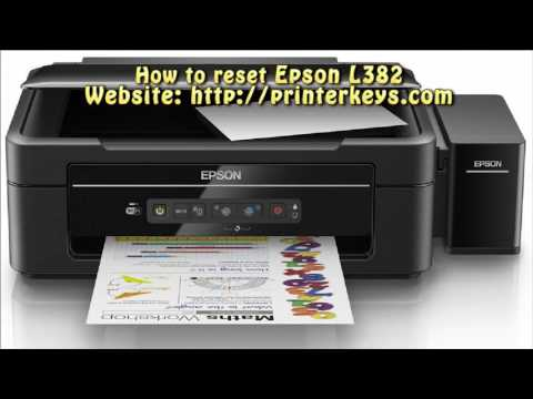 Reset Epson L382 Waste Ink Pad Counter