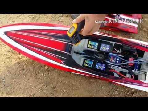 Traxxas Spartan Octura x450 Prop Speed Run 56.7mph