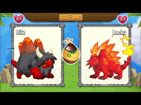 NEW BREEDING: Volcano Dragon & Flaming Rock Dragon [EXCLUSIVE BREEDING]