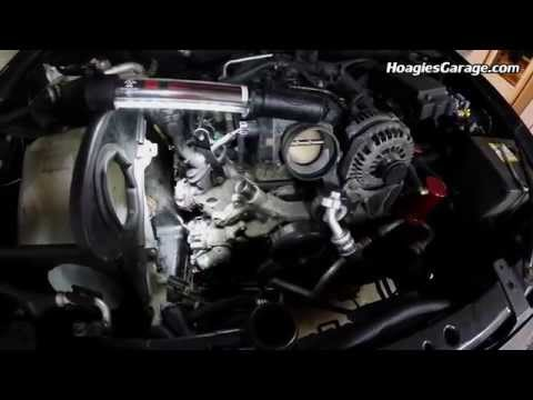 Chevrolet Trailblazer SS 6.0L LS2 Air Conditioning AC Compressor Replacement How To