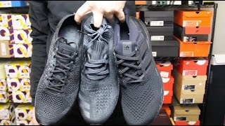Adidas Ultraboost LTD Triple Black Unboxing Video at Exclucity ... 1093e8a1f