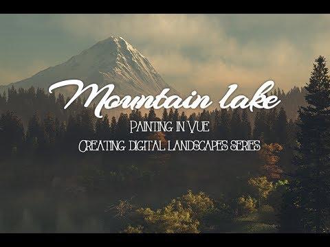 Vue tutorial, project lake painting plants on terrain part 4
